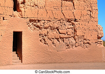 Casa Grande National Monument of the Hohokam Indians in...