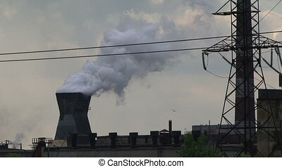 Atmospheric pollution - A large number of toxic emissions...