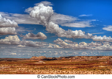 Arizona Painted Desert - The painted desert in northeastern...