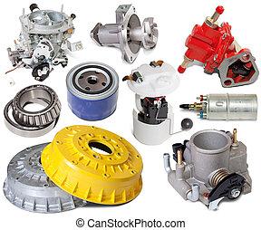 automotive spare parts - Set of automotive spare parts....