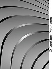 Silver metal vector background