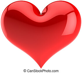 Heart shape - Heart. I Love You symbol. Saint Valentines Day...