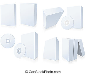 Software boxes with CD