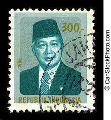 Postage stamp - INDONESIA-CIRCA 1986:A stamp printed in...