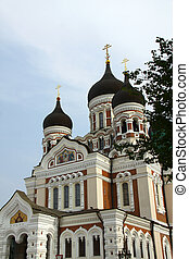 Alexander Nevsky Cathedral Russian Orthodox in Tallin EU
