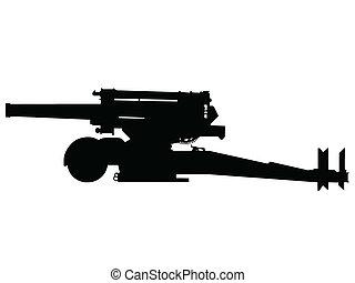 WW2 - Heavy Artillery - WW2 Series - Italian 210mm howitzer...