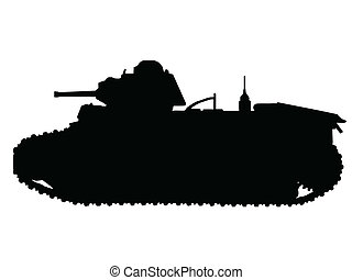 WW2 - TANKS - WW2 Series - French Char B1-bis Tank