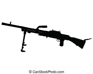WW2 - Machine Gun - WW2 Series - Czechoslovakian Lehky...