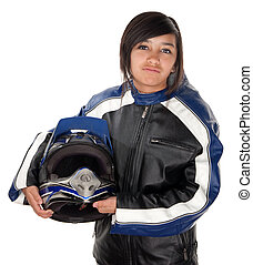 Latina Teen Racer