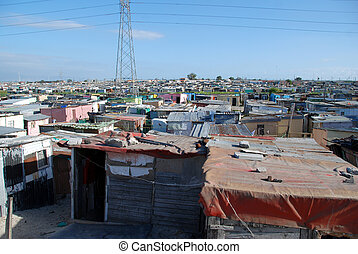shacks in township - township in south africa