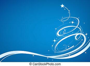 Christmas tree - Christmas related illustration
