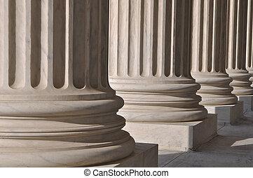 colonne, legge, informazioni, unito, Stati, supremo, corte