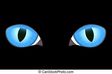 image of cat eyes  - image of cat eyes
