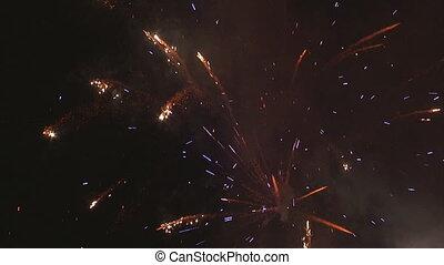 Fireworks timelapse
