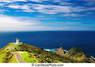 Cape Reinga Lighthouse, New Zealand - Cape Reinga...