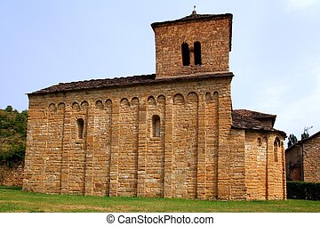 San Caprasio Church santa Cruz Seros Huesca