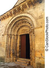 Santa Maria Romanesque Church santa Cruz Seros