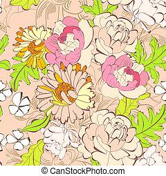 Summer seamless wallpaper