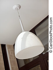 Modern white lamp shade