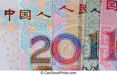 new year 2011 - chinese bank note new year 2011