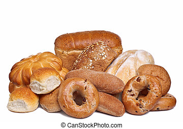 Assortment of bread - Photo of various types of bread...
