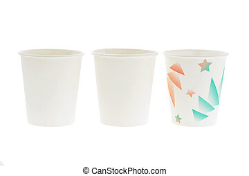 Disposal paper cups