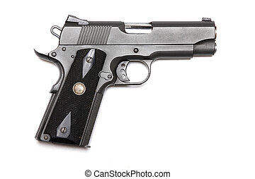 "1911-family handgun with 4.3"" barrel. - Weapon series...."