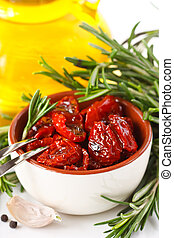 Dried tomatoes - Sundried tomatoes, garlic, rosemary and...