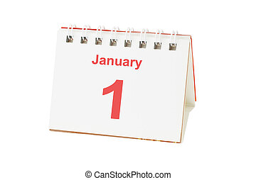 First day of new year
