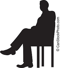 Businessman silhouette vector - Businessman silhouette...