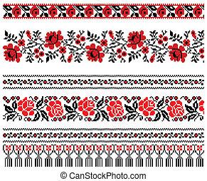 烏克蘭人, 刺繡, 裝飾品