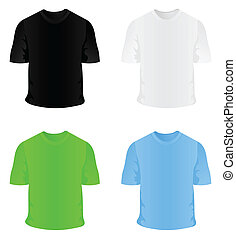 Sportswear - T-short sportswear for a body. A vector...