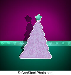 Merry Christmas Card. EPS 8 vector file included