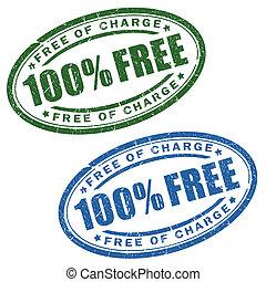 Free stamps set
