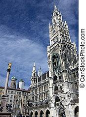 Neues Rathaus in Munich