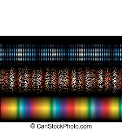 Vector background template collecti