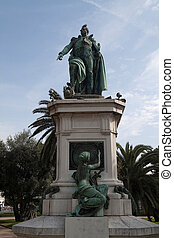 Napoleon - Statue of Napoleon in the center of Nice, France