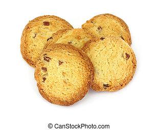 Five lemon almond cookies