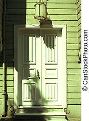 Porta, bianca