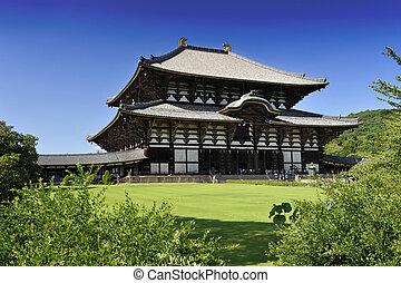 Daibutsu todai-ji - Nara Daibutsu todai-ji - famous Buddhism...