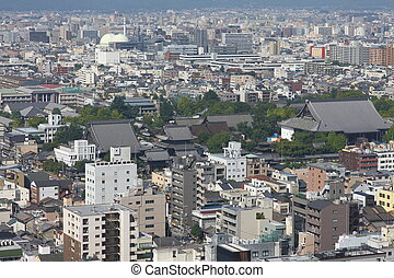 Kyoto bird's eye view