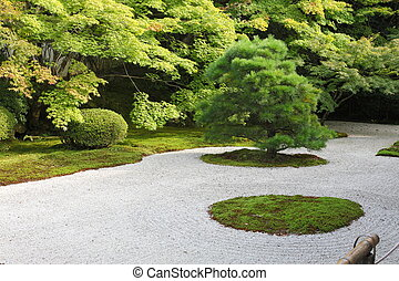 Japanese rock garden - Puritan japanese rock garden with...