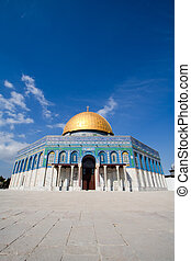 Israel dome - The Dome of the Rock , Jerusalem, Israel