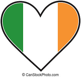 Irish Heart Flag