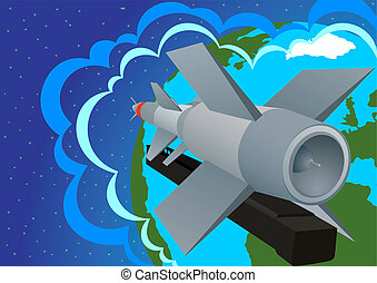 To guard the peace of heaven - Rocket launcher-Defense...