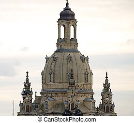 Dresden Frauenkirche in Germany