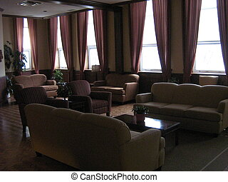 Seniors Centre Lounge - Cedarcroft Place Retirement Home,...