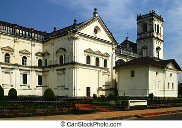 Cathedral of the Archdiocese of Goa - view at the Cathedral...