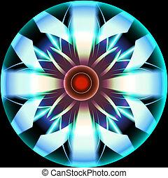 Futuristic Circle Design