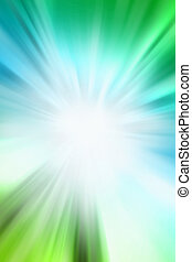 Blue and green background - Bright abstract blue and green...